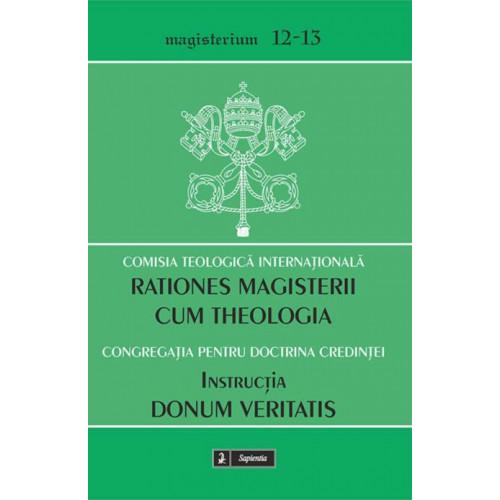 Rationes magisterii cum theologia, Relaţiile reciproce dintre magisteriul ecleziastic şi teologie