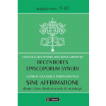 Scrisoarea Recentiores episcoporum Synodi / Documentul Sine affirmatione